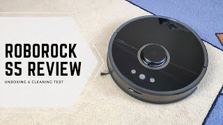 Xiaomi Roborock S55 (black) Unboxing, Review, Cleaning Test