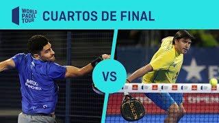 Resumen Cuartos De Final Sanyo/Maxi Vs Moyano/Cristian Logroño Open 2019 | World Padel Tour