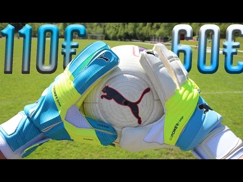 Puma Gloves TEST: evoPower Super (110€) vs. evoPower Grip (60€)