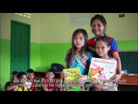 Adolescent and Youth Friendly Services (AYFS) documentary in Laos