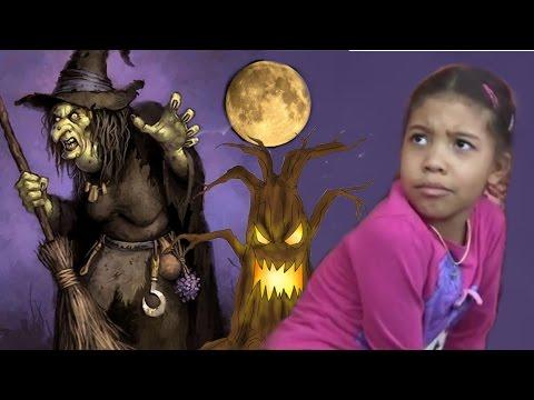 БАБА ЯГА Очень страшная сказка про ведьму.