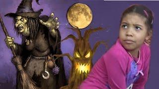 БАБА ЯГА! Очень страшная сказка про ведьму.