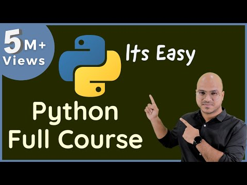 #0 Python Tutorial | Python Programming Tutorial for Beginners | Course Introduction
