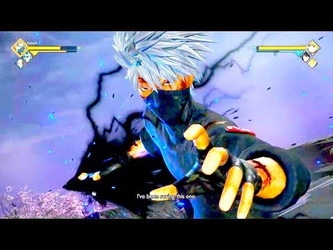 JUMP FORCE - NEW Characters & Ultimate Attacks Gameplay Demo (Boruto, Yugi, Kakashi & More)