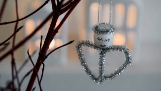 DIY: Angel Christmas Ornaments By Søstrene Grene