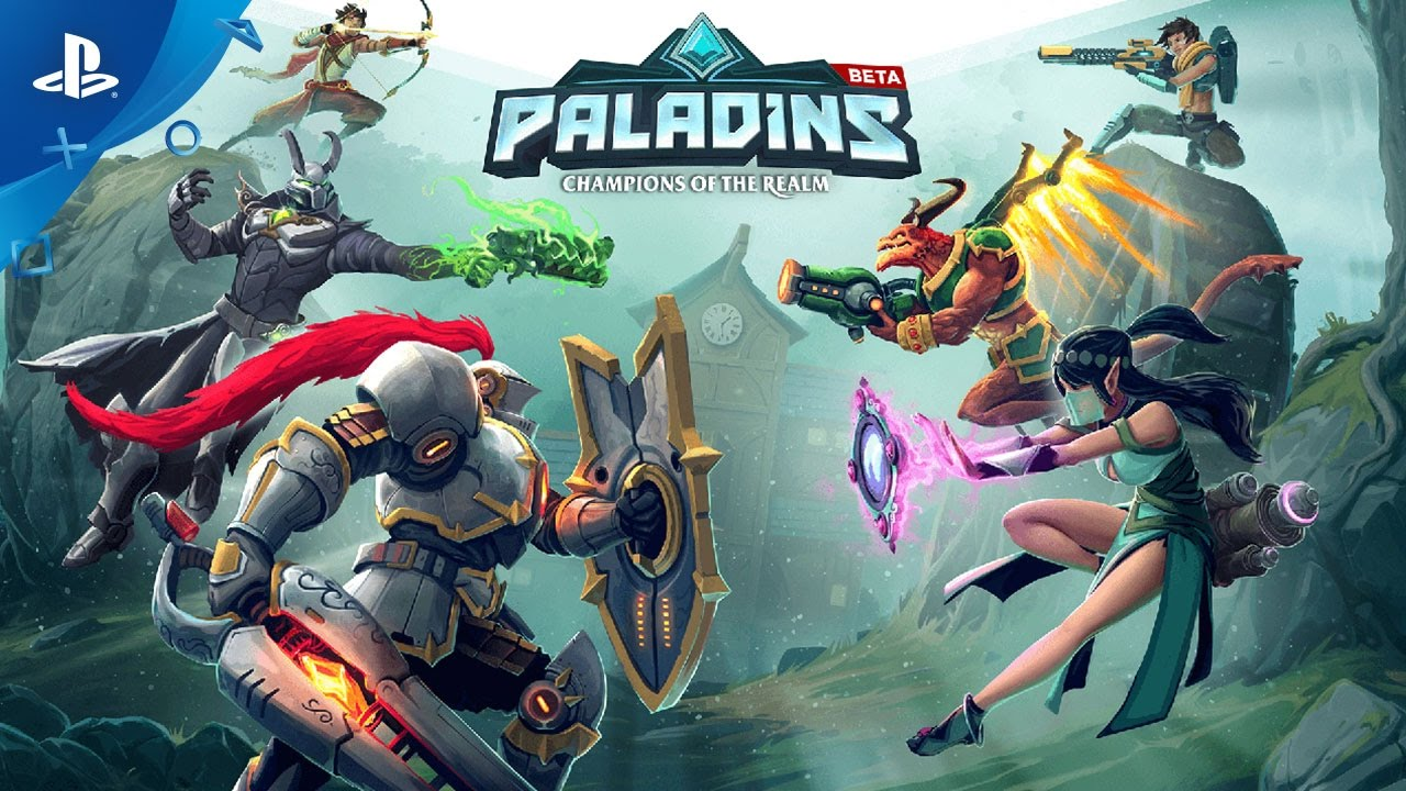 Play Team-Based Shooter Paladins for Free, Starting Today on PS4