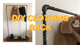 *How To Make A Clothing Rack*