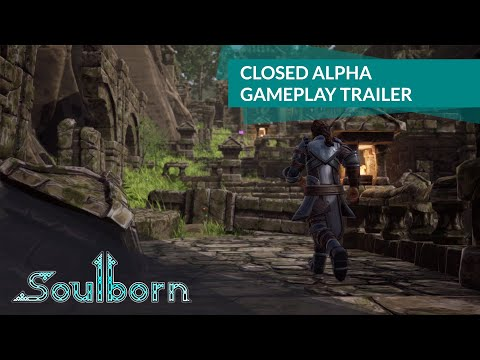 Gameplay de l'alpha de Soulborn