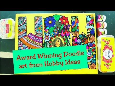 Doodle WOW for Hobby Ideas Contest