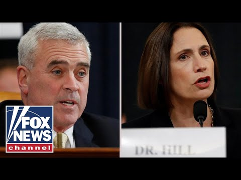 Fiona Hill clashes with Rep. Wenstrup on Ukraine interference in 2016 election