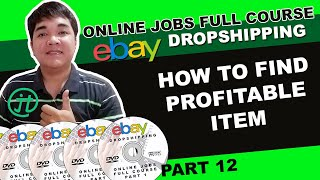 Ebay Lister How To Search Profitable Item Online Jobs Philippines Tutorial Tagalog Tagalog