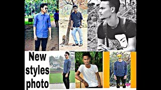 New men's styles photo pose!cool styles. photoshout