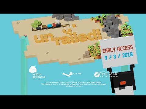 Unrailed! Release Date Trailer de Unrailed