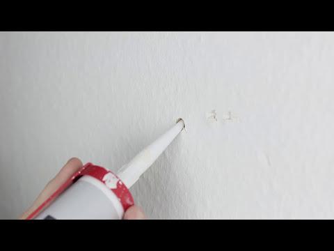 Bohrlöcher verschließen I Verspachteln & Füllen ☑️ [HD]