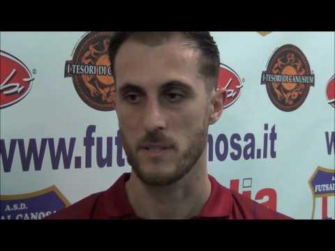 Preview video Interviste Post- Gara Apulia Food Canosa Vs Atletico Cassano (5-7)