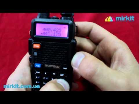 Видео инструкция (настройка) рации Baofeng (Pofung) UV-5R