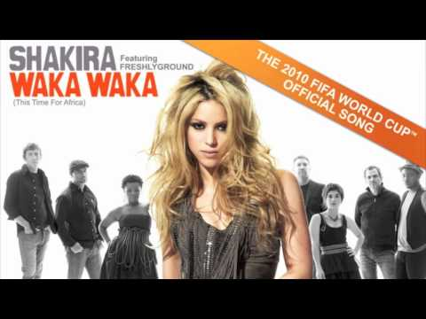 Shakira feat Freshlyground: Waka Waka (This Time For Africa) OFFICIAL mp3