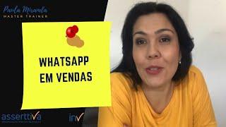 Whatsapp em vendas?