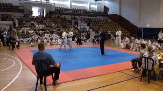 preview picture of video 'Ariel Cup 2010, Shinkyokushinkai Israel - The Best Moments'