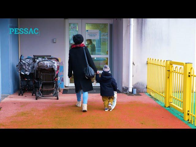 Les modes de garde avant l'école à Pessac