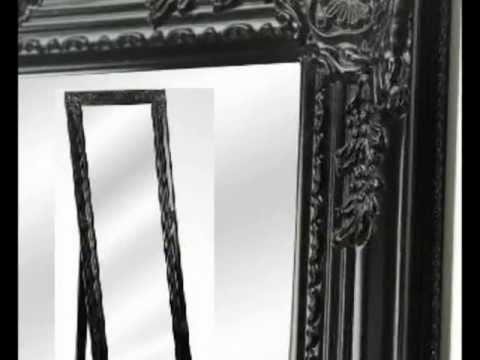 Espejo de pie para decoración