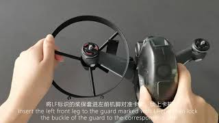 360 Degrees Prop Guard for DJI FPV Drone #FP-PG06