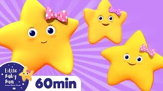 Twinkle Twinkle Little Star | Part 2 | Plus Lots More Nursery Rhymes | 60 Mins From LittleBabyBum!