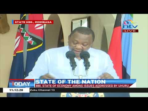 President Uhuru speaks on ongoing locust invasion
