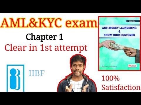 Aml Kyc certification course   Chapter 1   Aml Kyc IIBF study material ...