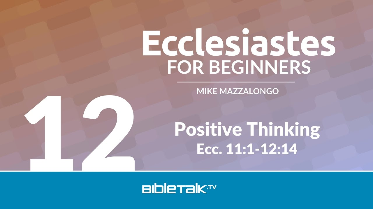 12. Positive Thinking