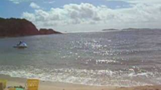preview picture of video 'The beach at Bolongo Bay'