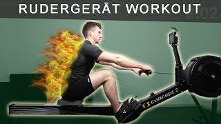 RUDERGERÄT WORKOUT: HIIT Training für Einsteiger | Fettverbrennung und Muskelaufbau (2019)