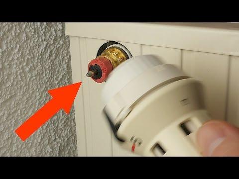 Durchflussmenge Heizkörper // einstellen // regulieren // Hydraulischer Abgleich // Thermostatventil