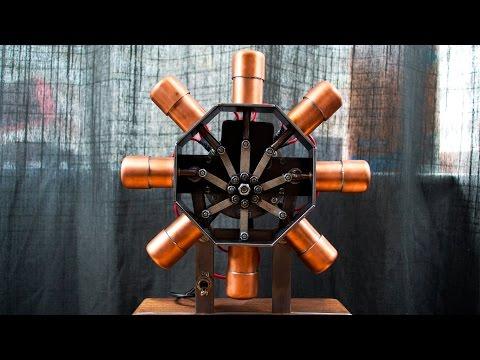 Download Kitfox Rotec R2800 radial engine start up in Full