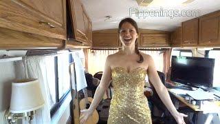 My Rita Hayworth dress and CampFest 2016