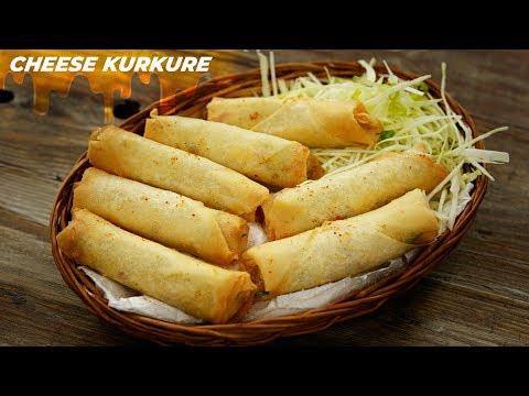 Cheese Kurkure Recipe – Crispy Cheese Finger Rolls CookingShooking