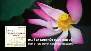 Đại Ý Ba Kinh Một Luận Tịnh Độ - Phần 2 – Câu chuyện niệm Phật phóng quang
