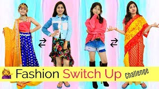 Kids vs Teenagers - Fashion Switch Up Dare Challenge | #RolePlay #Fun #Anaysa #MyMissAnand