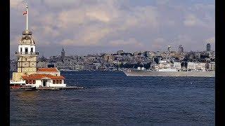 Эсминец США USS Carney (DDG 64) прошёл через Босфор для конвоя балкера с большим грузом из Украины?!