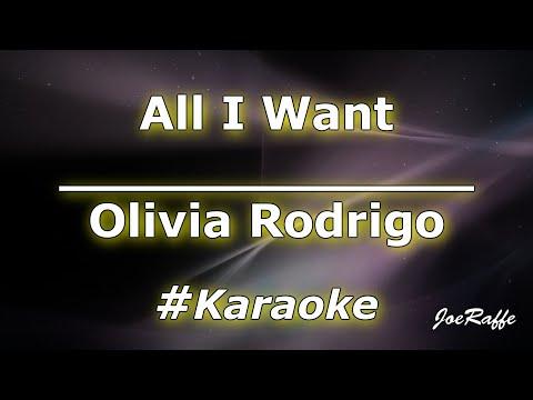 Olivia Rodrigo - All I Want (Karaoke)