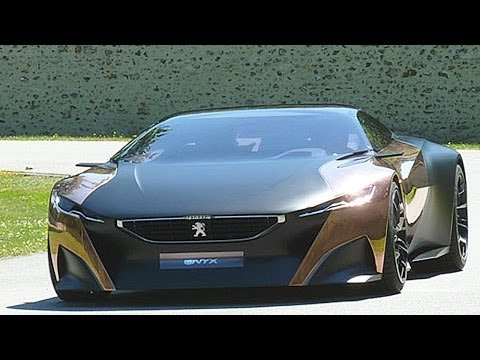 Peugeot Onyx Concept Car – GORGEOUS