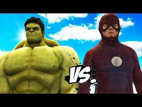THE HULK VS THE FLASH - EPIC SUPERHEROES BATTLE | DEATH FIGHT