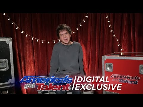 Singer Darcy Callus Relives His AGT Performance - America's Got Talent 2017
