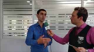 Entrevista com o Secretario Felipe Borsoi falando sobre os galhos e lixos