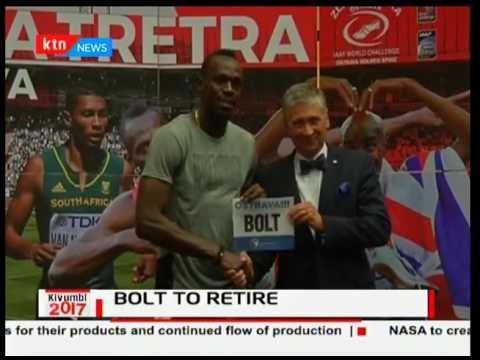 Usain Bolt emotional as he announces his retirement plans