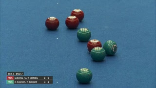 Just. 2019 World Indoor Bowls Championships: Day 2 Session 1