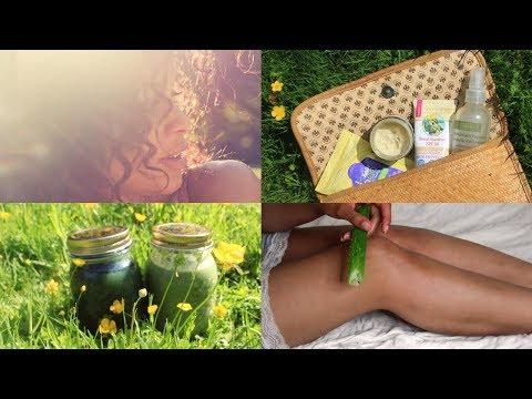 Natürliche Sommer Essentials • Sonnencreme, Lockenpflege, Rezepte & mehr