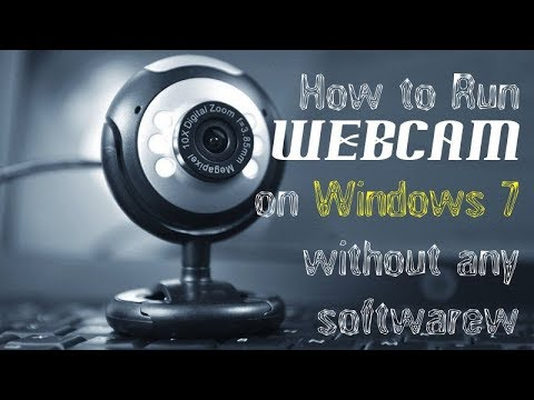 How to use webcam on windows 7 without software  English,Urdu,Hindi 