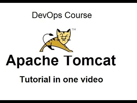Tomcat Server Tutorial in one video   DevOps Tutorial for beginners ...