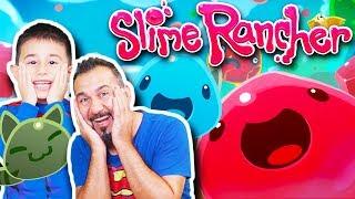SLİME GEZEGENİNDE DÜNYANIN EN TATLI SLİMELERİNİ BESLİYORUZ! | Slime Rancher